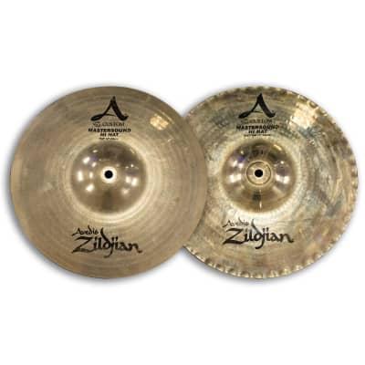 "Zildjian 12"" A Custom Mastersound Hi-Hat Cymbals (Pair)"
