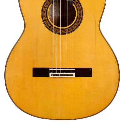 German Vazquez Rubio Almeria 2005 Flamenco Guitar Spruce/Cypress for sale