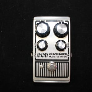 DOD DOD Gunslinger Mosfet Distortion 2010s Silver for sale