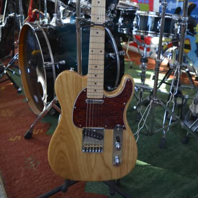 G & L  Ltd. 2017 ASAT Classic Tribute  Ash w/ Maple neck, Chrome Straplocks  and SKB Molded Case for sale