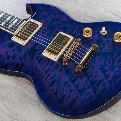 ESP USA Viper Guitar, Purple Sunburst, EMG Pickups, Ebony Fretboard for sale