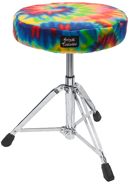 Stone Thrones Drum Seat Cover Tie Dye Small Reverb