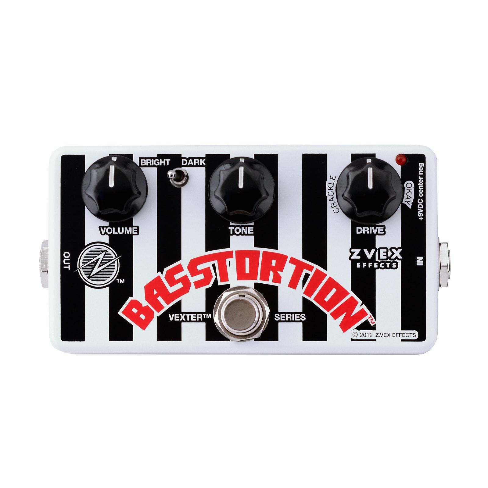 ZVEX Basstortion Vexter Series Bass Distortion Effects Pedal