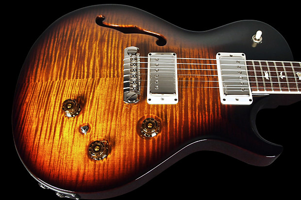 2015 paul reed smith prs p245 singlecut semi hollow 10 top reverb. Black Bedroom Furniture Sets. Home Design Ideas