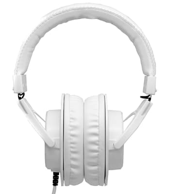 CAD - MH210W - Closed-Back Studio Headphones, White