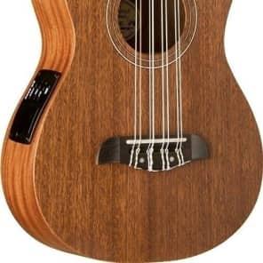 Oscar Schmidt Model OU28TE 8 String Tenor Size All Mahogany Acoustic Electric Ukulele