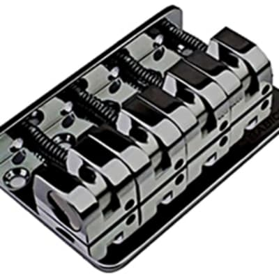 Babicz FCH Z SERIES 4 String Bass Bridge, Black