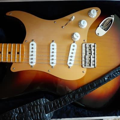 Fender Stratocaster Clapton Guitarist George Terry Custom Modified 1978 Sunburst Hardtail for sale