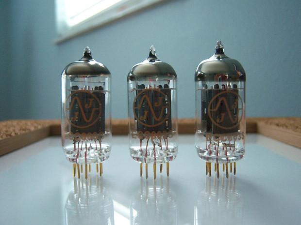 JJ Electronic ECC803S Gold Pin (3 Tubes)