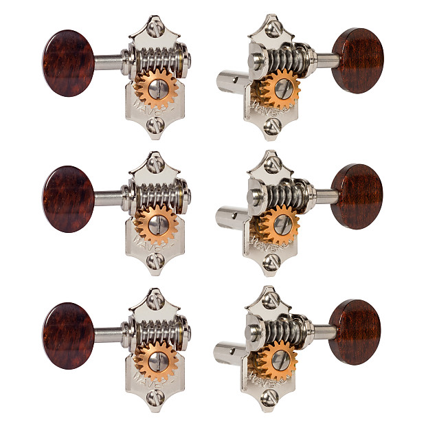 waverly guitar tuners with snakewood knobs for slotted reverb. Black Bedroom Furniture Sets. Home Design Ideas