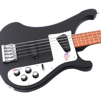 Rickenbacker 4003s 5 String Electric Bass Matte Black