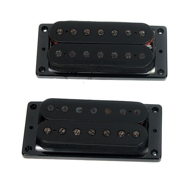 Seymour Duncan Pegasus and Sentient 7 String Pickup Humbucker Set 11108-95-B7