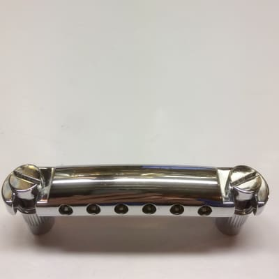 Gotoh Gibson Style Stopbar w/Studs & Bushings Chrome for sale