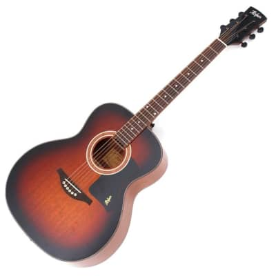 Hofner Grand Auditorium Acoustic / electric Guitar Solid Spruce top Fishman P/up Sunburst for sale