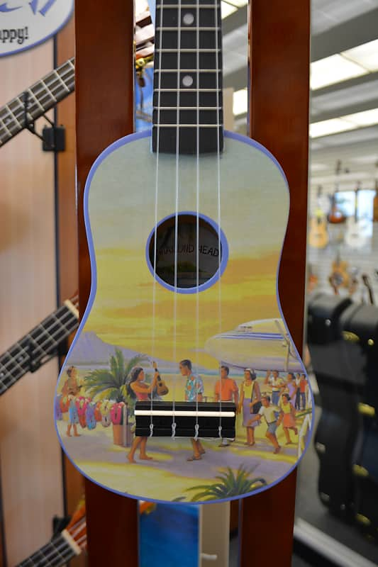 Diamond Head DU-133 Soprano Ukulele - Vintage Hawaii