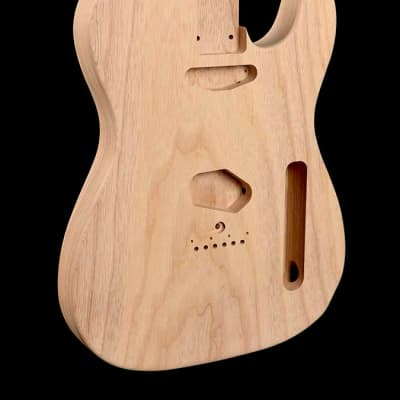 RebelRelic  Telecaster Bodies - 1 Piece Swamp Ash - Unfinished for sale