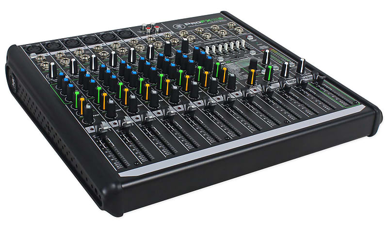 mackie profx12v2 pro 12 channel compact mixer w effects and reverb. Black Bedroom Furniture Sets. Home Design Ideas