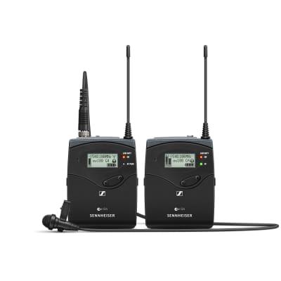 Sennheiser EW 112P G4 Camera-Mount Omnidirectional Lavalier Microphone System (G-Band: 566-608 MHz)