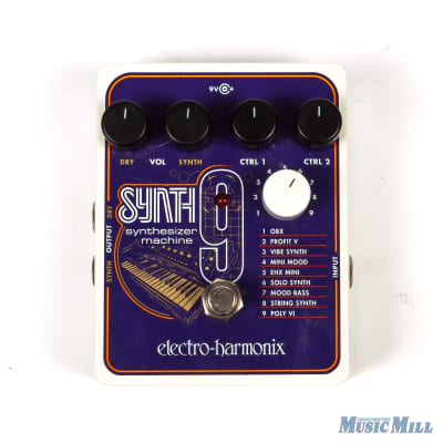 Electro-Harmonix SYNTH9 Synthesizer Machine Pedal x0920 (USED)