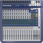 Soundcraft Signature 16 - 16 input Analog Mixer -PLUS 2 FREE 20ft XLR Cables image