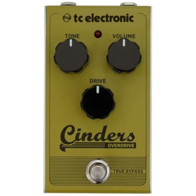TC ELECTRONIC CINDERS OVERDRIVE EFFETTO OVERDRIVE A PEDALE PER CHITARRA for sale