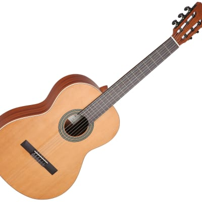 Cuenca 5 Classical Nylon Guitar Classic Solid Red Cedar Top Mahogany Spain for sale