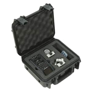 SKB 3i-0907-4-H6 Waterproof Molded Case for Zoom H6 Recorders