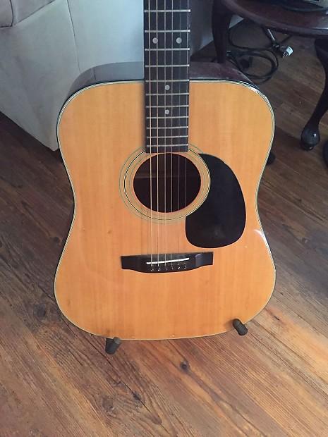 sigma acoustic guitar mij 80s natural guitar2thestars reverb. Black Bedroom Furniture Sets. Home Design Ideas