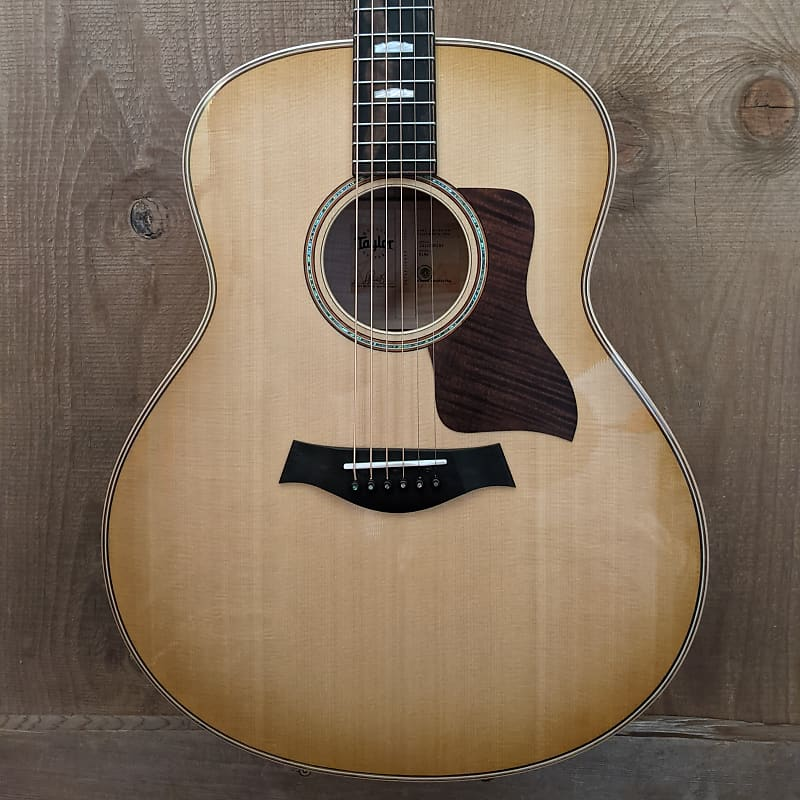Taylor 618e Grand Orchestra Acoustic Electric Guitar Antique Blonde