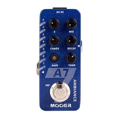 Mooer Audio Micro Series A7 Ambient Reverb Pedal