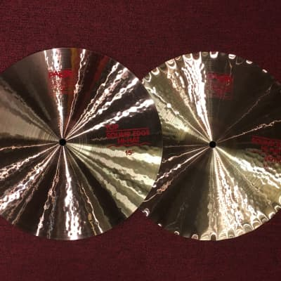"Paiste 15"" 2002 Series Sound Edge Hi-Hat (Pair) Cymbals w/ FREE Paiste T-Shirt"