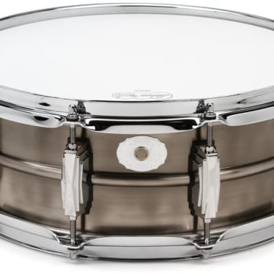 """Ludwig LC664 Limited Edition Pewter Copper Phonic 5x14"""" 10-Lug Snare Drum 2020"""
