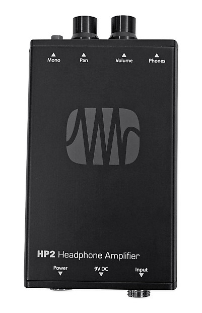 presonus hp2 2 channel stereo headphone amplifier system hp 2 reverb. Black Bedroom Furniture Sets. Home Design Ideas