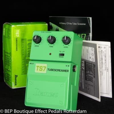 Ibanez TS7C Tube Screamer 25th Anniversary Limited Edition Tone-lok Series s/n 053C1797