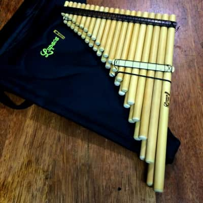 Professional Lupaca Chromatic zampoña panflute 41 pipes Heavy