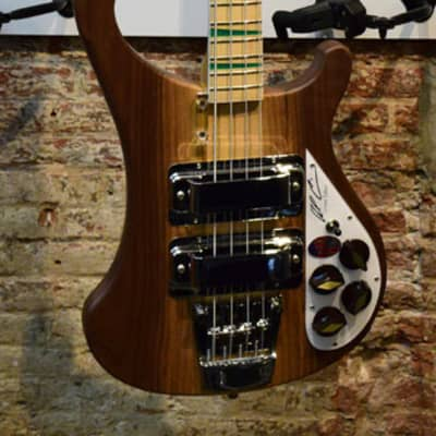 Rickenbacker 4003AC-W Walnut Limited edition - Al Cisneros Signature bass Natural for sale