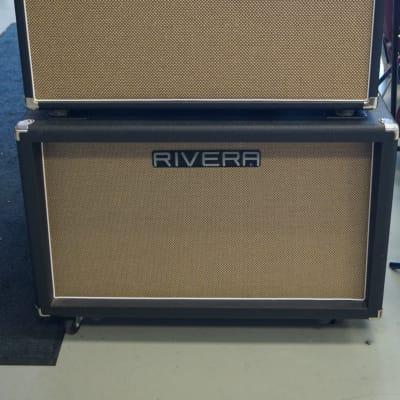 Rivera Fandango 212  2010 Black Tolex with K212 cabinet for sale