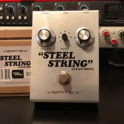 Vertex Effects Steel String Clean Drive Dumble Tones! SRV in a box Authorized Dealer