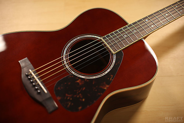 Yamaha ls16 are acoustic electric guitar dark tinted w for Yamaha ls16 vs ll16