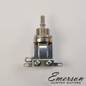 Emerson Custom Short Straight Switchcraft 3-Way Toggle Switch for sale