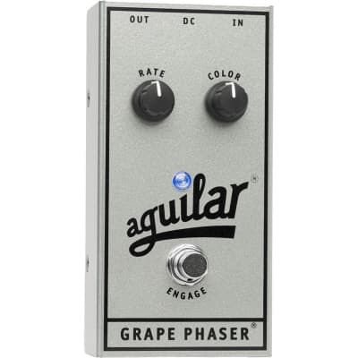 Aguilar APGP-AE Grape Phaser Silver Anniversary Edition Pedal for sale