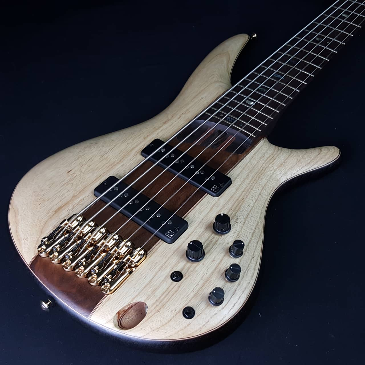 ibanez premium sr1306e 6 string active bass natural flat with reverb. Black Bedroom Furniture Sets. Home Design Ideas