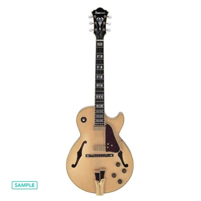 Ibanez GB10-NT George Benson Signature Series Semi-Hollow Electric Guitar Natural w/ Case [Outlet] for sale