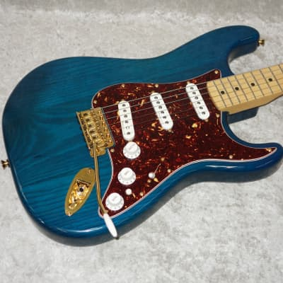2006 Fender MIM Deluxe Player Strat Stratocaster electric guitar with bag 60th for sale