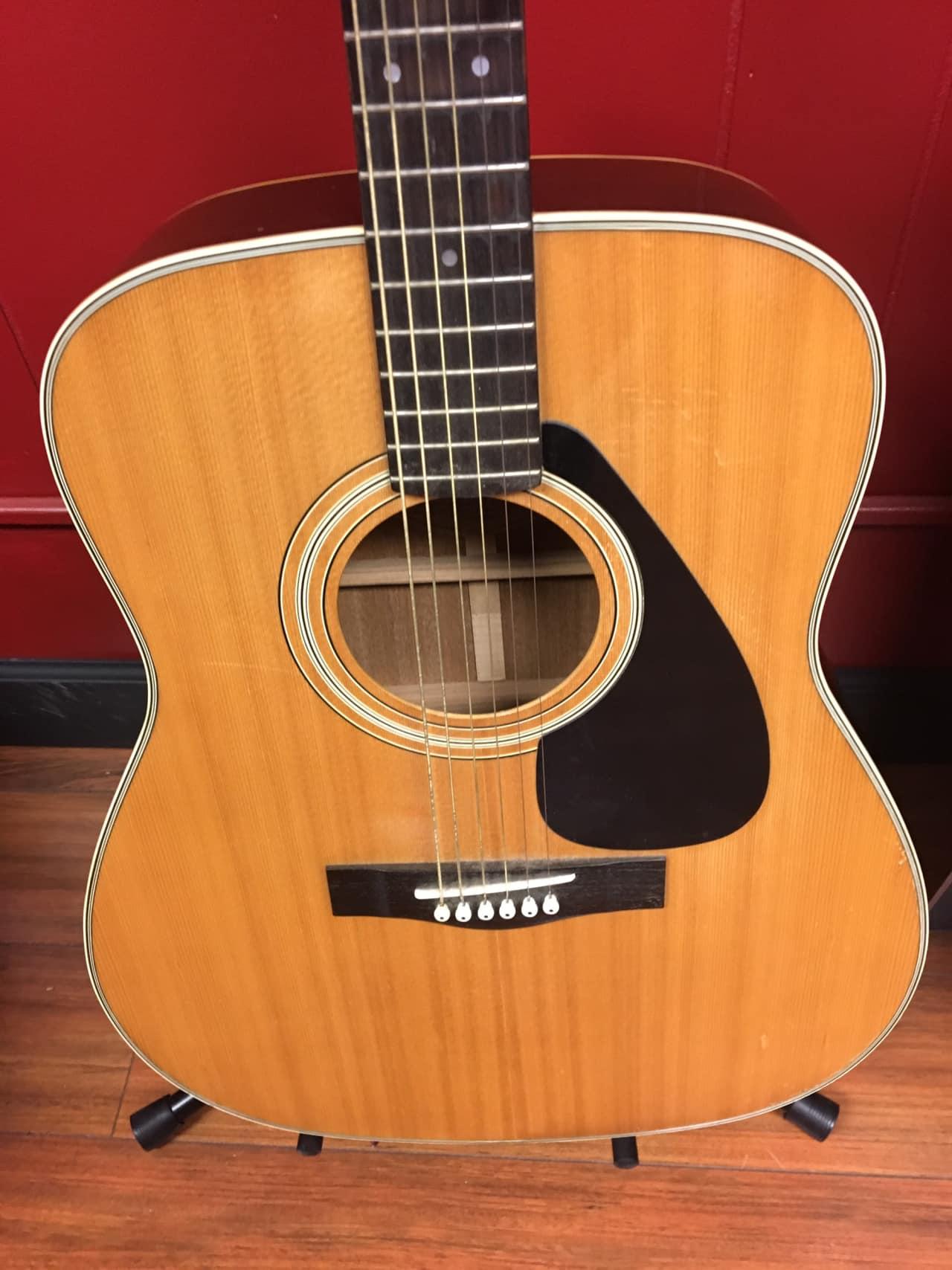 Yamaha Fg Ii Acoustic Guitar