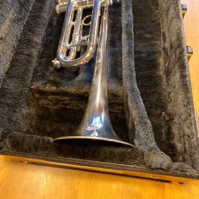 Getzen 590S-S Capris Series Bb Trumpet Silver-Plated #G69228