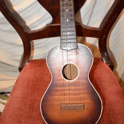 harmony ukulele 1960's sunburst for sale