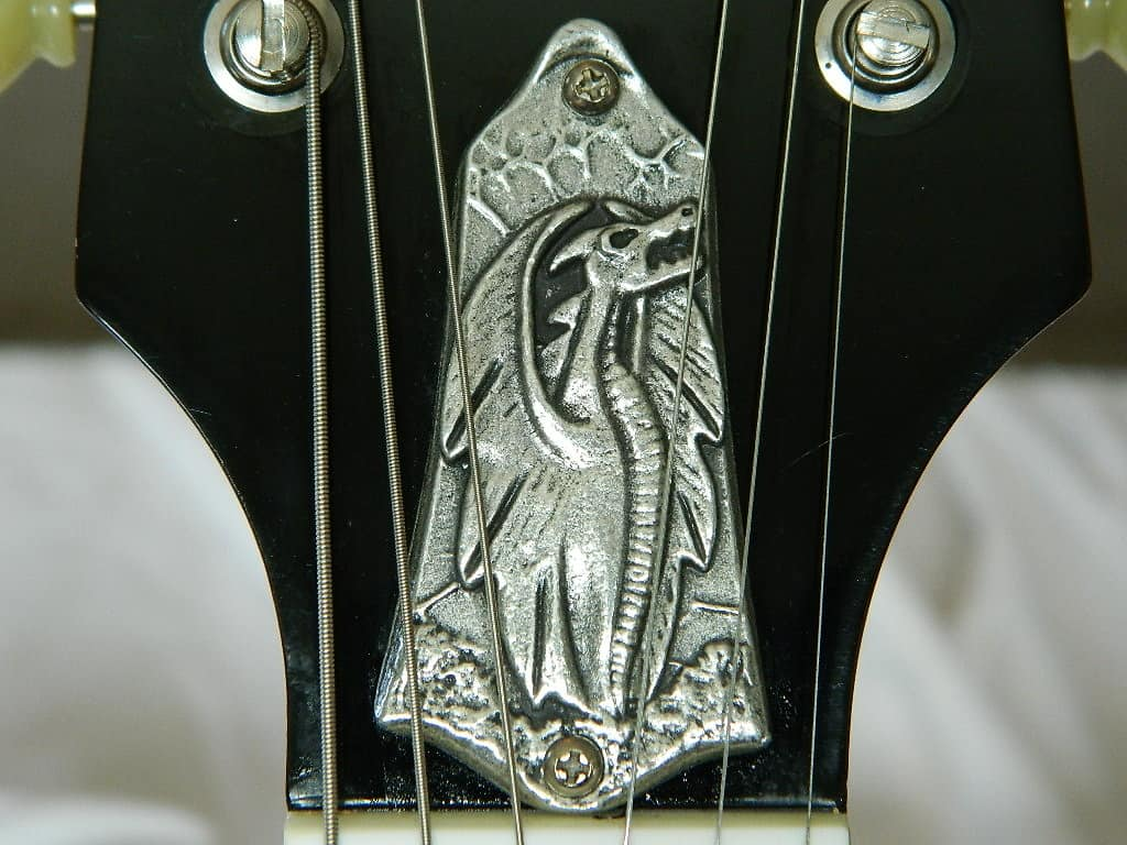 Dragon Truss Rod Cover For Gibson Les Paul Sg And Explorer