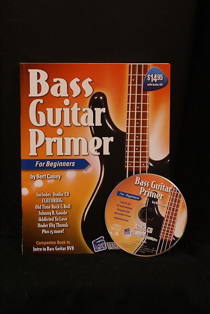 watch learn bass guitar primer book cd for beginner reverb. Black Bedroom Furniture Sets. Home Design Ideas