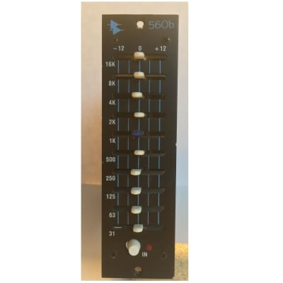 API 560b 500 Series 10-Band Graphic Equalizer Module 1990s